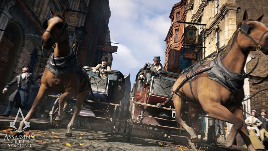 Le sessioni in carrozza saranno parte integrante della nuova esperienza di Assassin's Creed: Syndicate.