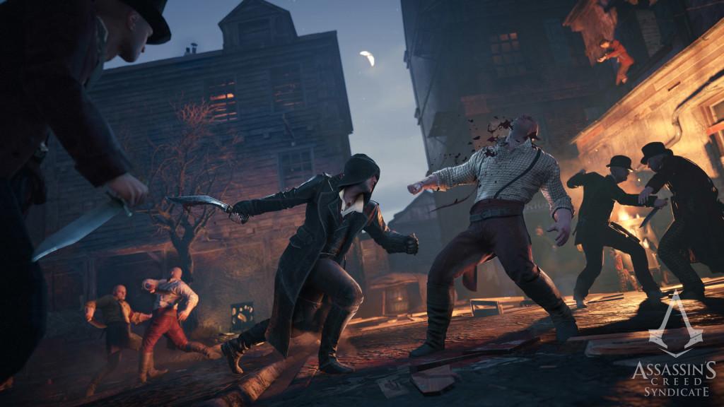 Le grosse battaglie fra gang sono fra le esperienze al cuore dell'azione di Assassin's Creed: Syndicate.