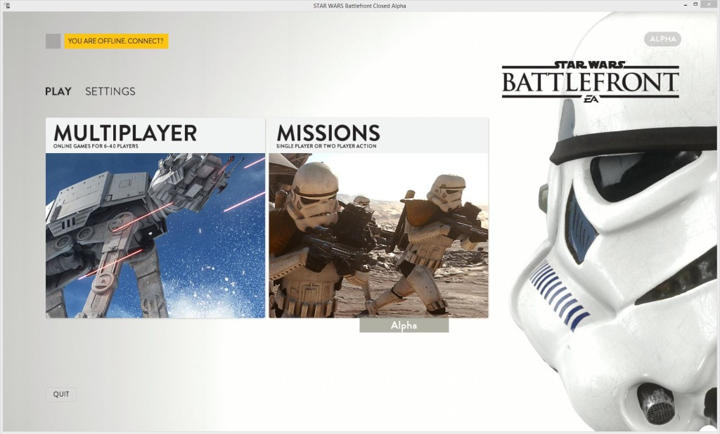 Battlefront-menu